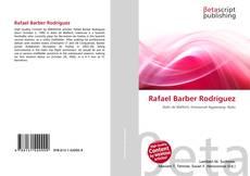 Portada del libro de Rafael Barber Rodríguez