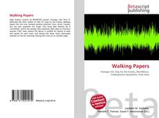 Bookcover of Walking Papers
