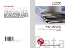 Portada del libro de Adolf Werthner