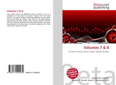 Bookcover of Volumes 7 & 8