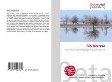 Обложка Río Herrera
