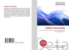 Bookcover of Hidden Personality