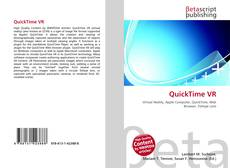 Bookcover of QuickTime VR