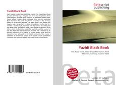 Обложка Yazidi Black Book