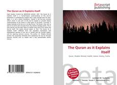 The Quran as it Explains Itself kitap kapağı