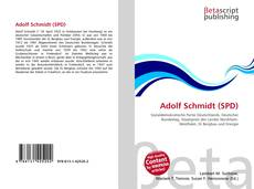 Buchcover von Adolf Schmidt (SPD)