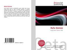 Capa do livro de Rafa Gómez