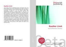 Copertina di Raether Limit