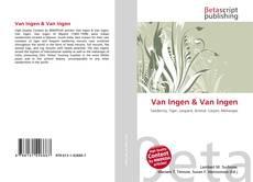 Bookcover of Van Ingen & Van Ingen