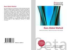 Bookcover of Raes Abdul Wahed