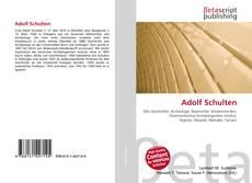 Обложка Adolf Schulten