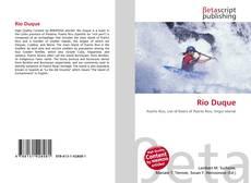 Bookcover of Río Duque