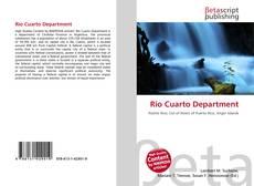 Río Cuarto Department kitap kapağı