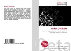 Portada del libro de Todor Gečevski