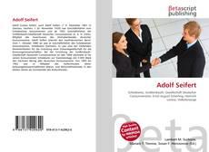 Bookcover of Adolf Seifert