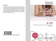 Bookcover of W- SIM