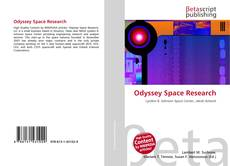 Couverture de Odyssey Space Research