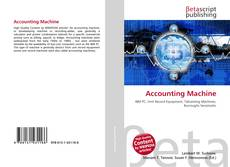 Buchcover von Accounting Machine