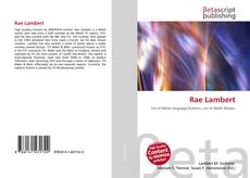 Bookcover of Rae Lambert