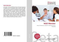 Bookcover of NGO Monitor