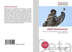 Buchcover von Adolf Sommerauer