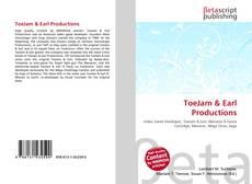 ToeJam & Earl Productions kitap kapağı