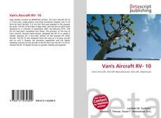 Buchcover von Van's Aircraft RV- 10