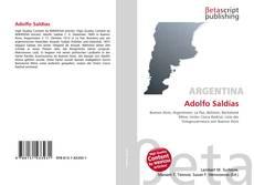 Portada del libro de Adolfo Saldías