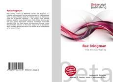 Buchcover von Rae Bridgman