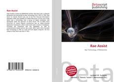Buchcover von Rae Assist