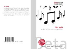 Bookcover of W- inds