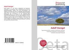 Buchcover von Adolf Stengel
