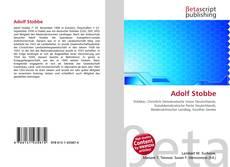 Adolf Stobbe的封面