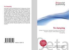 Ye Jianying kitap kapağı