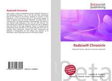 Bookcover of Radziwi?? Chronicle
