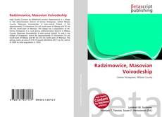 Portada del libro de Radzimowice, Masovian Voivodeship
