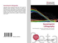 Обложка Nanoimprint Lithography