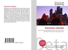 Bookcover of Electronic Libretto