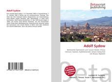 Buchcover von Adolf Sydow