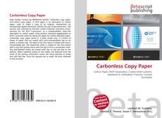 Capa do livro de Carbonless Copy Paper