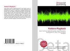 Portada del libro de Pattern Playback