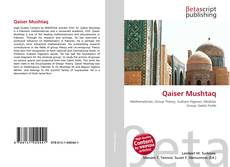 Bookcover of Qaiser Mushtaq