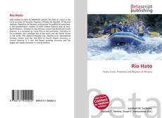 Buchcover von Río Hato