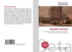 Bookcover of Tajuddin Ahmad