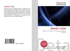 Bookcover of UNIVAC 1103A