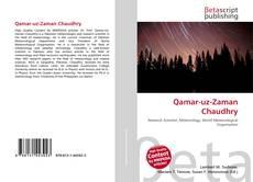 Bookcover of Qamar-uz-Zaman Chaudhry