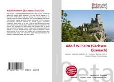 Обложка Adolf Wilhelm (Sachsen-Eisenach)