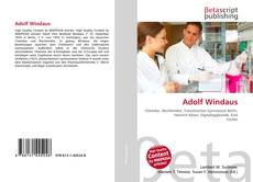 Buchcover von Adolf Windaus
