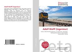 Bookcover of Adolf Wolff (Ingenieur)
