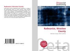 Обложка Radwanice, Wrocław County
